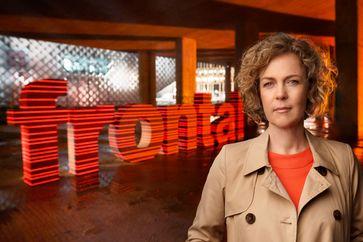 "Ilka Brecht moderiert das ZDF-Politmagazin ""Frontal 21"". Bild: ZDF Fotograf: Jens Koch"