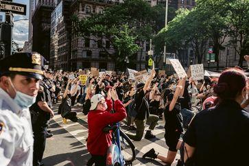 Aufstände Unruhen (Symbolbild)