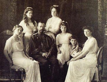 Russische Zarenfamilie, 1913