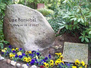 Grabstätte von Uwe Barschel auf dem Alten Friedhof in Mölln