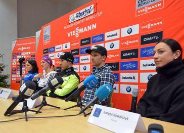Saarinen, Herrmann, Manificat, Kershaw, Kowalczyk Bild: WSRO-Skisport-GmbH