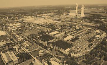 Industriepark / Industriekomplex (Symbolbild)