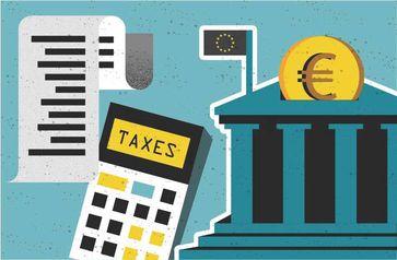 """Steuerquote im Verhältnis zum BIP in der EU Bild: """"obs/EUROSTAT"""""""