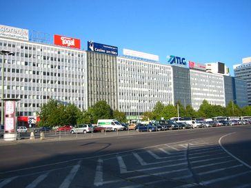 Haus der Elektroindustrie, der Hauptsitz der Treuhandanstalt am Berliner Alexanderplatz