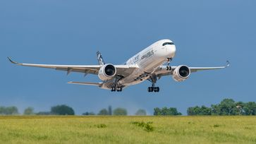 Airbus A350-900 (Symbolbild)