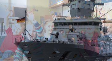 Bundeswehr kann nicht genug Besatzungen für neue Fregatten ausbilden - Uups? Trotz Milliarden-Beratern vergessen die Ausbildung einzuplanen? Ein Kindergarten ist meistens besser organisiert (Symbolbild)