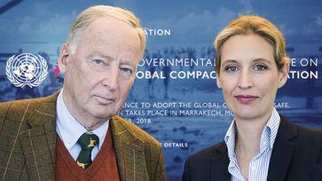 Weidel/Gauland: Die Zustimmung zum Migrationspakt wird die unkontrollierte Einwanderung nach Deutschland beflügeln