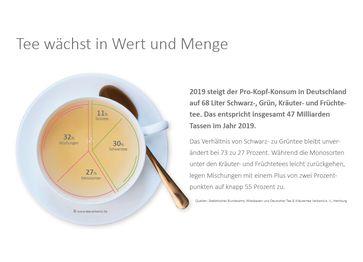 """Verbraucher in Deutschland lieben Tee und Kräuter- und Früchtetee mehr denn je /  Bild: """"obs/Deutscher Tee & Kräutertee Verband e.V./teeverband.de"""""""