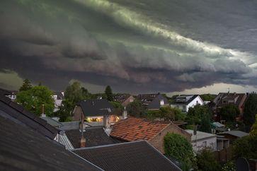 Gewitterwolken (Symbolbild)