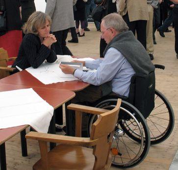 Schäuble und seine Frau Ingeborg Schäuble (2007)