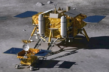 China's 1st Moon Lander & Rover Mission. Bild: Beijing Institute of Spacecraft System Engineering - wikipedia.org
