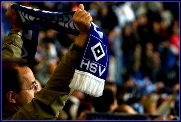 HSV-Fan in der Arena (Symbolbild)