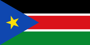 Flagge der Republik Südsudan