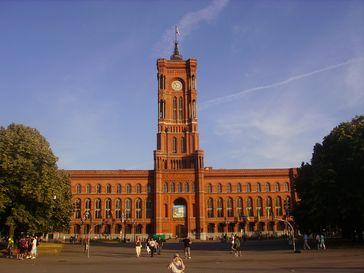 Rotes Rathaus in Mitte, Sitz des Senates von Berlin
