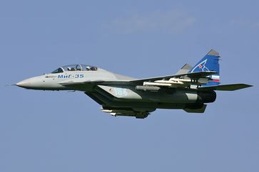 Eine russische  MiG 35