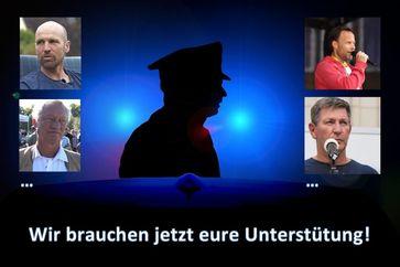"""Bild: Screenshot Internetseite: """"https://mutigmacher.org/die-mutigen-polizisten-brauchen-jetzt-eure-unterstuetzung/"""" / Eigenes Werk"""