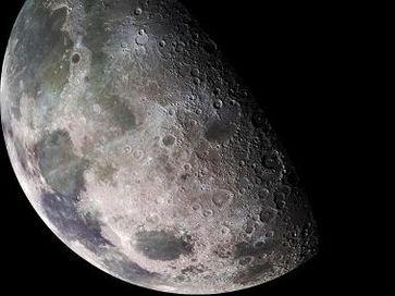 Mond Bild: NASA