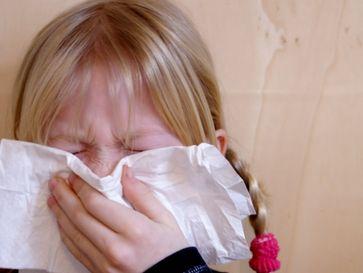 Schupfen, Erkältet, Grippe (=Corona) (Symbolbild)