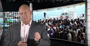"Bild: Screenshot Youtube Video: ""Skandal: Neue Flüchtlingswelle größer als 2015"""