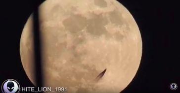 "Bild: Screenshot Youtube Video ""MYSTERY UFO Caught On Observatory Telescope! 4/16/17"""