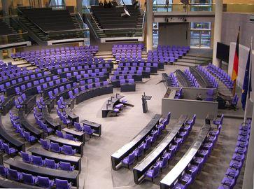 Bundesversammlung: Plenarsaal im Reichstagsgebäude