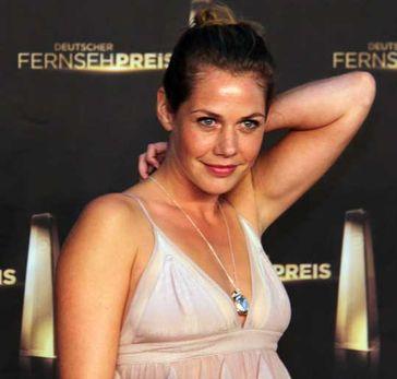 Felicitas Woll beim Deutschen Fernsehpreis 2012
