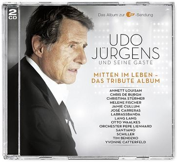 """Cover """"Mitten im Leben - Das Tribute Album"""" von Udo Jürgens"""