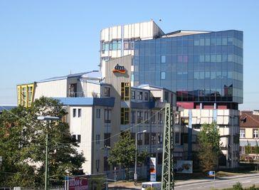 dm-Zentrale in Karlsruhe