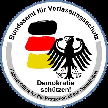 Logo des Bundesamts für Verfassungsschutz (Inlandsgeheimdienst)