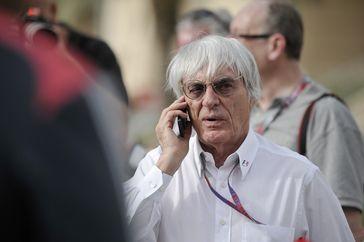 Ecclestone beim Großen Preis von Bahrain 2012