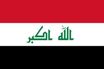 Flagge Irak