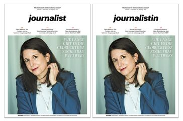 Judith Wittwer Bild: journalist - Das Medienmagazin Fotograf: Julian Baumann