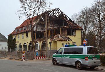 Das ausgebrannte Haus in Zwickau. Bild: André Karwath / wikipedia.org