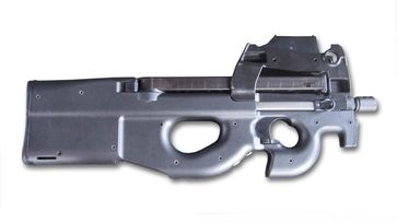 Seitenansicht der Maschinenpistole FN-P90 (Symbolbild)