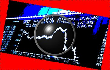 DAX (Deutscher Aktienindex) & Börse, Crash(Symbolbild)
