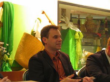 Frank Überall bei einer Diskussion in Köln-Mülheim (2008)