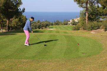 "Golfresort Korineum Zypern. Bild: ""obs/Golf Tours St. Andrews/Wolfgang Neumann"""
