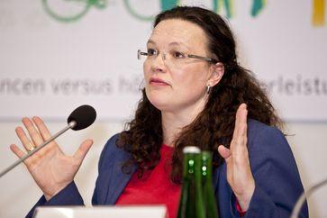 Andrea Nahles 2011
