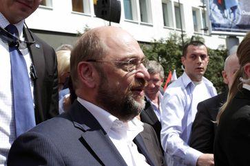Der gelernte Buchhändler Martin Schulz