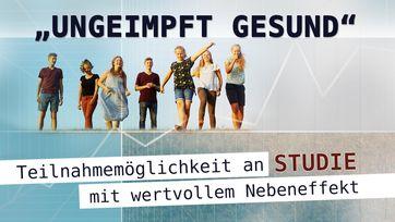 """Bild: SS Video: """"""""Ungeimpft Gesund"""" – Teilnahmemöglichkeit an Studie mit wertvollem Nebeneffekt"""" (www.kla.tv/19775) / Eigenes Werk"""