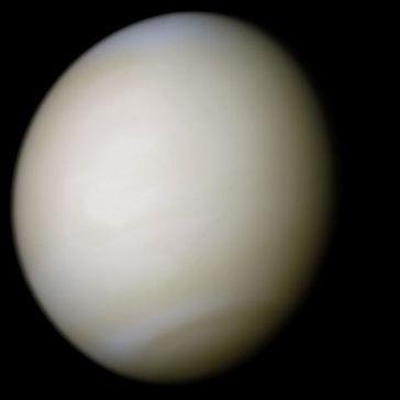 Venus in natürlichen Farben