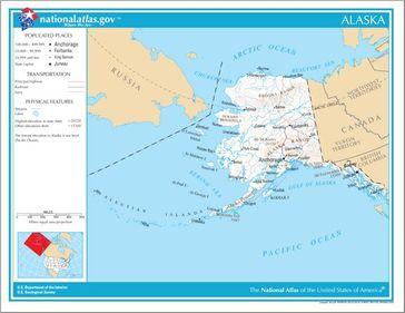 Karte von Alaska Bild: de.wikipedia.org