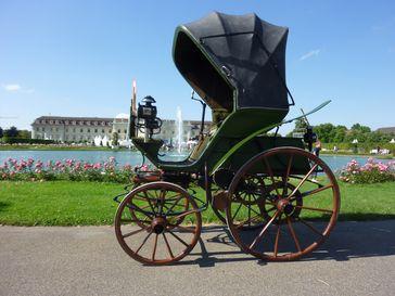 Elektroauto von 1888, die Technik hat sich praktisch bis 2020 offiziell fast nicht verändert (Symbolbild)