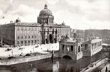 Das Berliner Stadtschloss um 1900