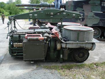 Leopard 2 Triebwerk