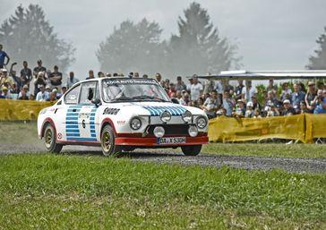 Der 130 RS debütierte zur Saison 1975 als Wettbewerbsgerät für Rallye und Rundstrecke Bild: Skoda Auto Deutschland GmbH Fotograf: Skoda Auto Deutschland GmbH