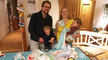 Familie Höfer will zwei Monate lang alles dafür tun, so wenig Plastikmüll wie möglich zu erzeugen.  Bild: ZDF Fotograf: ZDF/Jochen Klöck