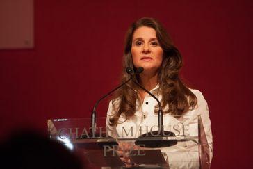 Melinda Gates 2014 in London