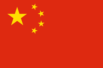 Flagge von China