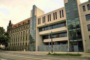 Landgericht Magdeburg, Fronteingang